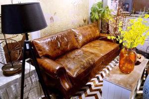modern home leather sofa