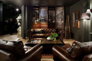 retro leather club set